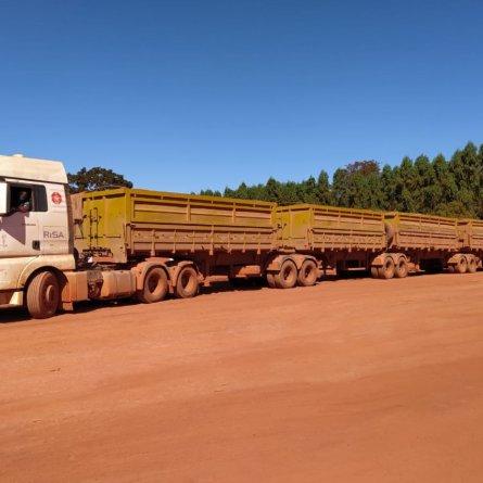 Risa começa a utilizar caminhões pentatrem em suas operações no Maranhão