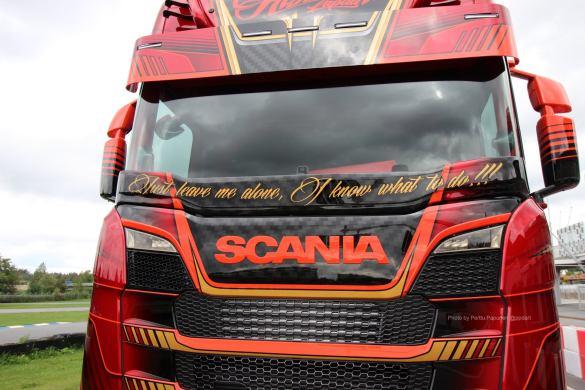 Ristimaa Customs Kimi Raikkonen Scania 650S Iceman 12