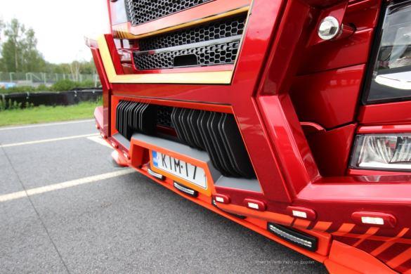Ristimaa Customs Kimi Raikkonen Scania 650S Iceman 13