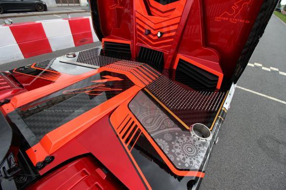 Ristimaa Customs Kimi Raikkonen Scania 650S Iceman 15