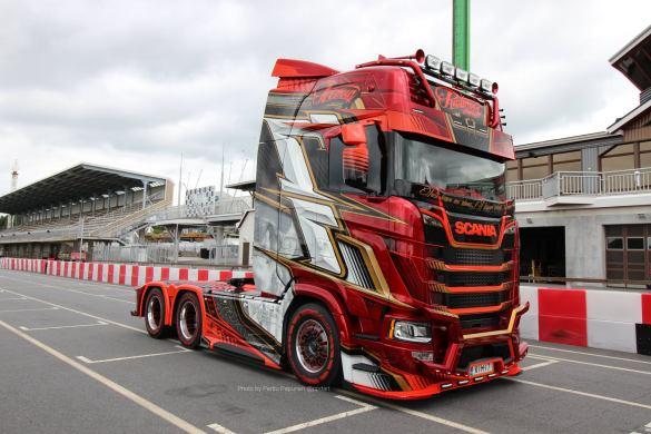 Ristimaa Customs Kimi Raikkonen Scania 650S Iceman 30