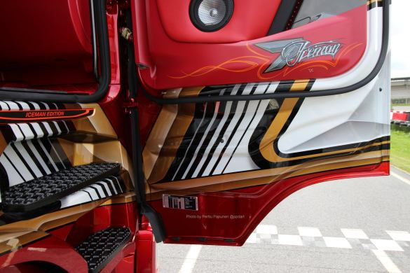 Ristimaa Customs Kimi Raikkonen Scania 650S Iceman 9