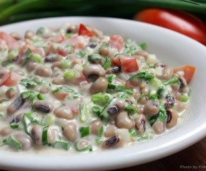 Salada de feijão