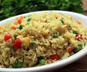 Arroz Primavera Integral