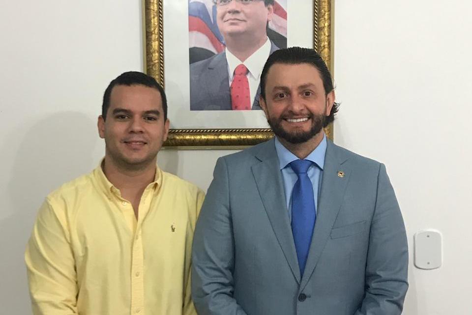 Dr. Leonardo Sá dialoga com secretário de Cultura para desenvolvimento de ações na cidade de Pinheiro