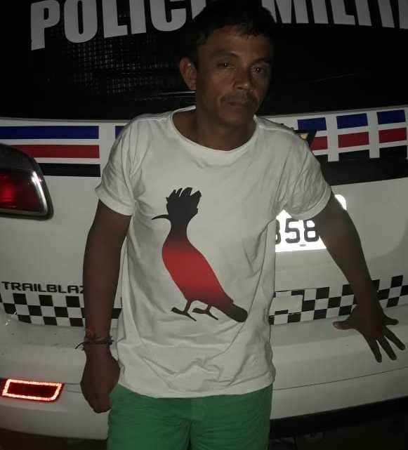 Homem é preso após espancar a esposa em Santa Helena-MA