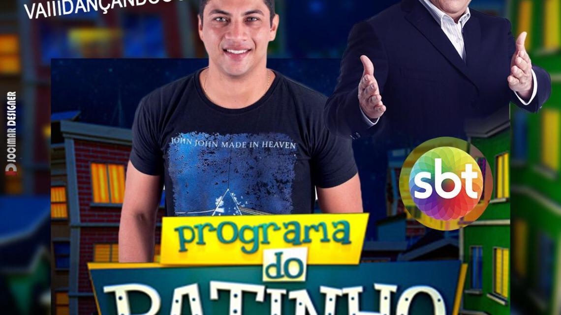 Cantor Flávio Pinto se apresenta no próximo dia 05 de agosto no programa do Ratinho