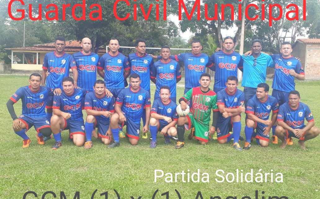Guarda Municipal de Pinheiro realiza futebol solidário no povoado Angelim