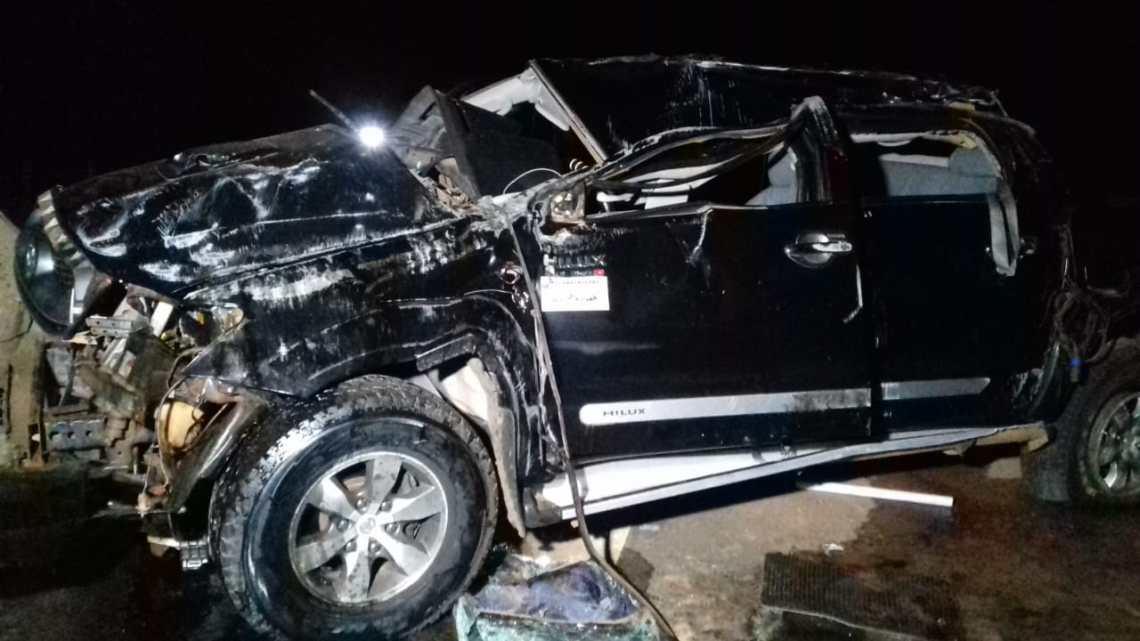 Quatro Pessoas de Zé Doca ficam feridas em capotamento de caminhonete na BR 316 na cidade de Bacabal