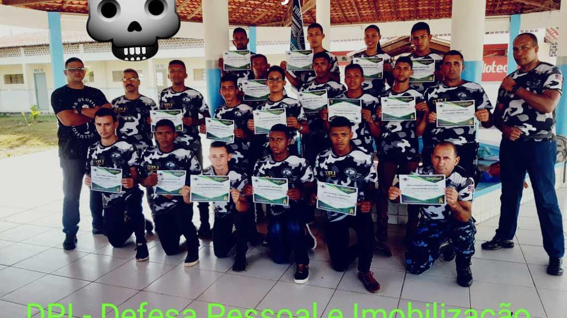 Equipe Força & Honra Treinamentos ministra Curso básico de Defesa Pessoal e Imobilização (DPI) em São Vicente Ferrer- Ma