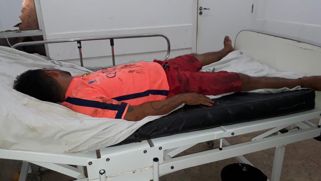 Homem é vítima de tentativa de homicídio no bairro Cerâmica em Palmeirândia