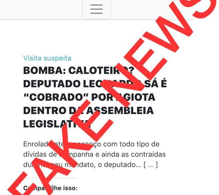 """""""Sou amigo pessoal do deputado Leonardo Sá"""" diz empresário Hildelbrado Cavalcante ao desmentir falsa notícia espalhada por aliados de Luciano Genésio em Pinheiro, veja o vídeo"""