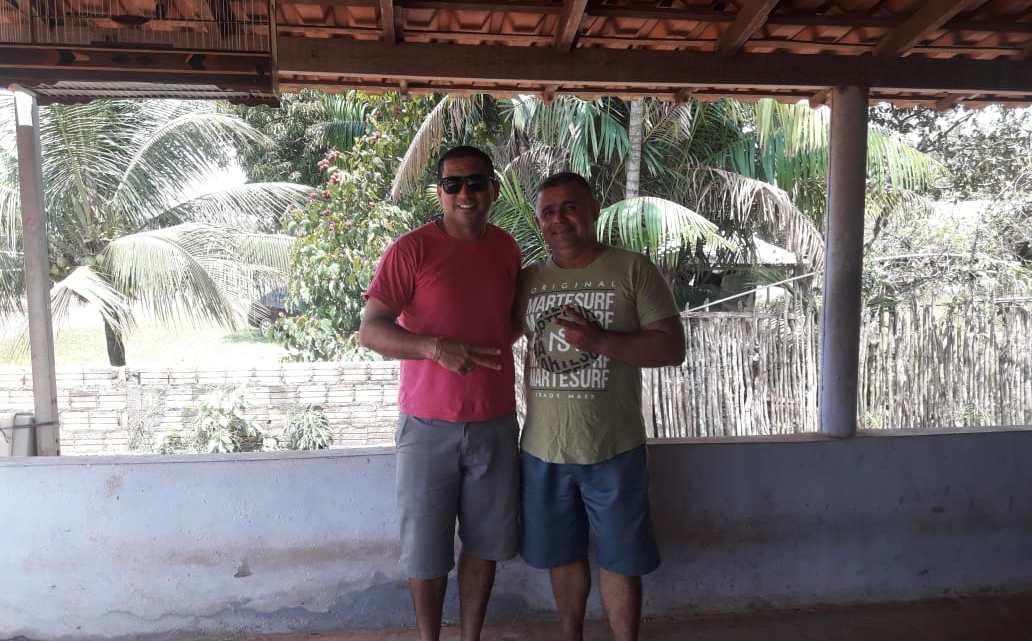 Pré-candidato a prefeito de Bequimão Robson Cheira, reúne com lideranças políticas no povoado Floresta