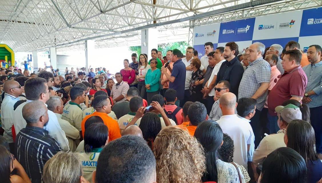 Deputado Dr. Leonardo Sá participa da inauguracao do novo Terminal do Cujupe