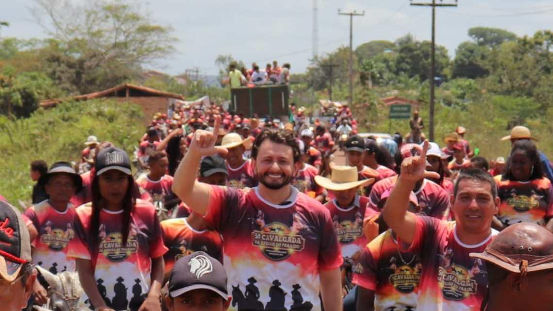 Pinheiro – Veja como foi a 5º cavalgada da região do paraíso, organizanda pelo ex-vereador Jaelson Araújo
