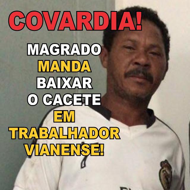 Após prisão de feirante e pressão da população, prefeito Magrado Barros afasta comando da Guarda Municipal de Viana