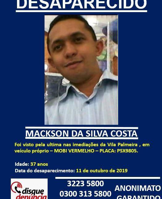 Polícia encontra carro mas pastor natural de Cajapió continua desaparecido em São Luis
