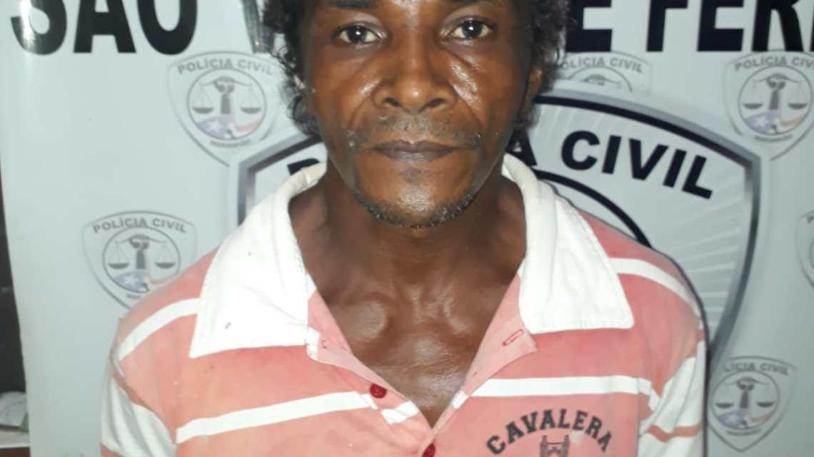 Urgente – Polícia Civil prende acusado de abusar enteada de 12 anos, em São Vicente Ferrer