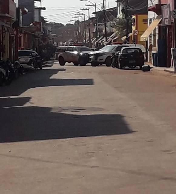 Urgente – Bandidos assaltam nesse momento agência dos correios de São Bento