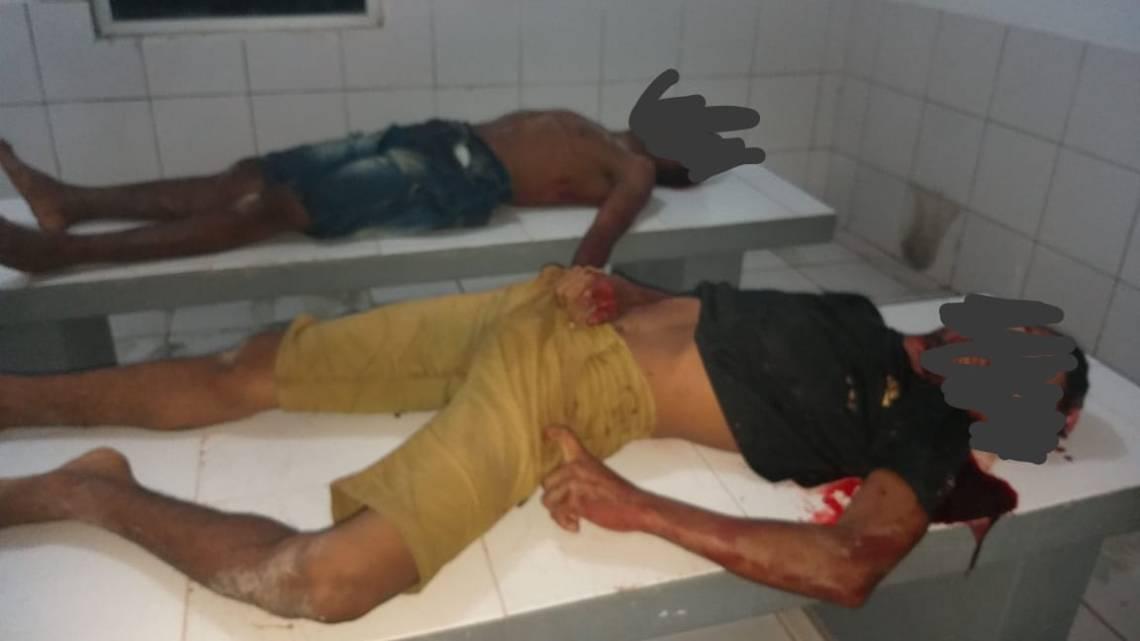 Urgente – Assaltantes morrem em confronto com a polícia na zona rural de Penalva no começo da noite desta terça-feira (14)