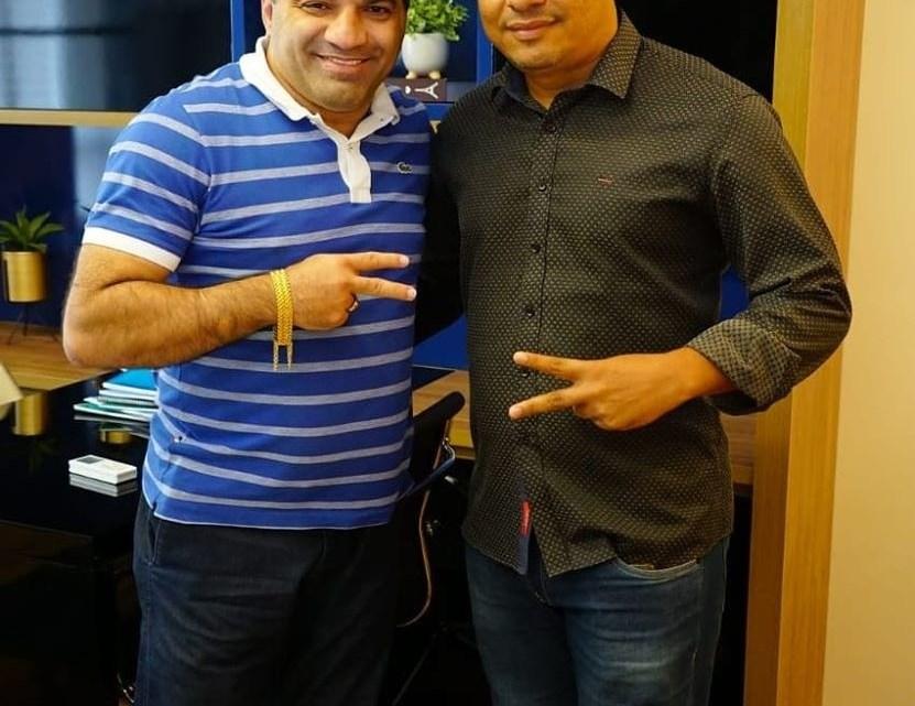 Pré-candidato a prefeito de Porto Rico do Maranhão Aldo Brown, reúne-se com deputado federal Josimar de Maranhãozinho