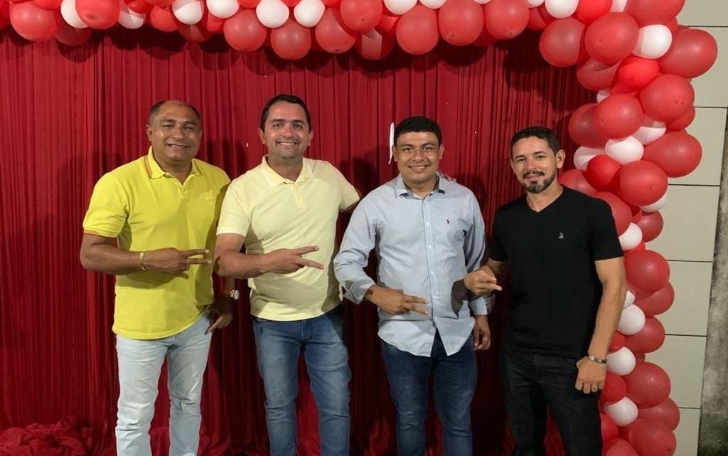 Deputado federal Júnior Lourenço, declara apoio a pré-candidatura de Aldo Brown a prefeito de Porto Rico do Maranhão