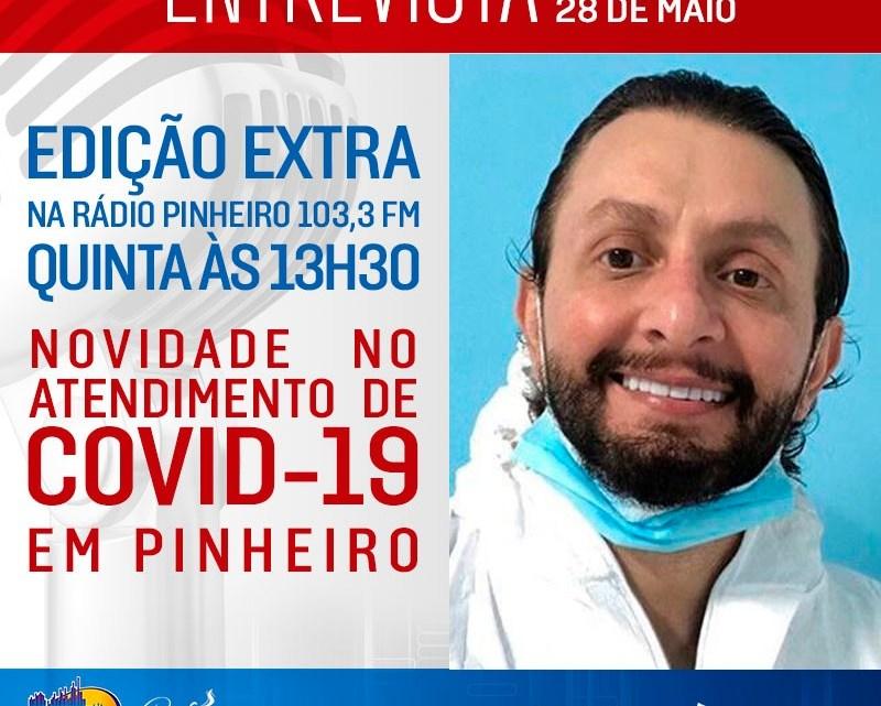 Dr Leonardo Sá fará lançamento de um novo programa médico em Pinheiro, nesta quinta-feira (28)