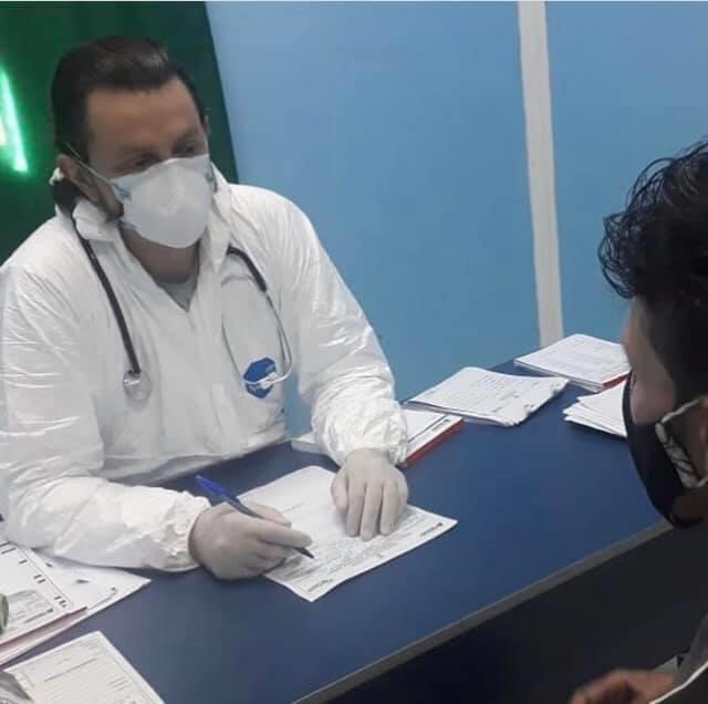 """""""A medicina sempre foi e sempre será uma grande paixão em minha vida"""" Diz Dr Leonardo Sá, ao finalizar mais um plantão no hospital Antenor Abreu em Pinheiro"""