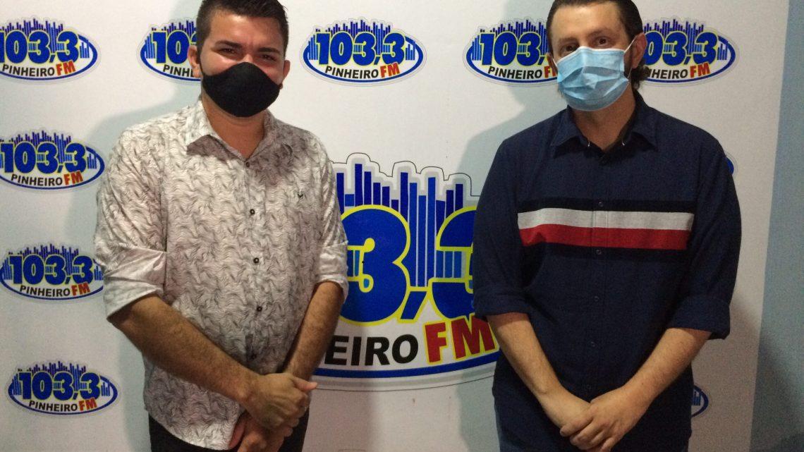 Dr. Leonardo Sá se coloca à disposição da Prefeitura de Pinheiro como médico, para atuar nos hospitais da cidade