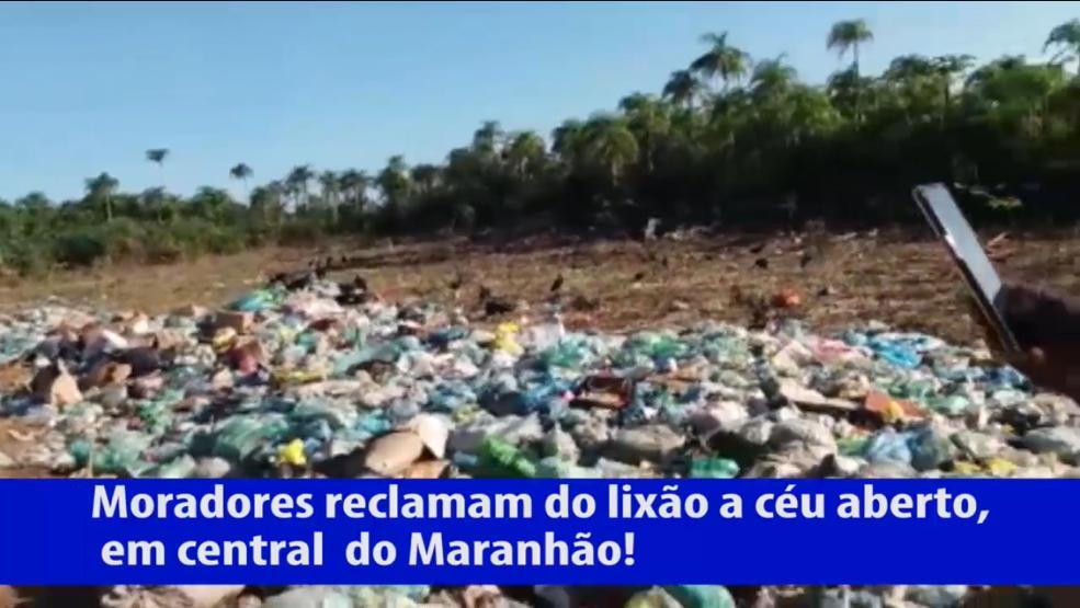 Central do Maranhão – Lixão toma conta de estrada que dá acesso a povoados, e moradores pedem socorro ao prefeito Ismael Monteiro