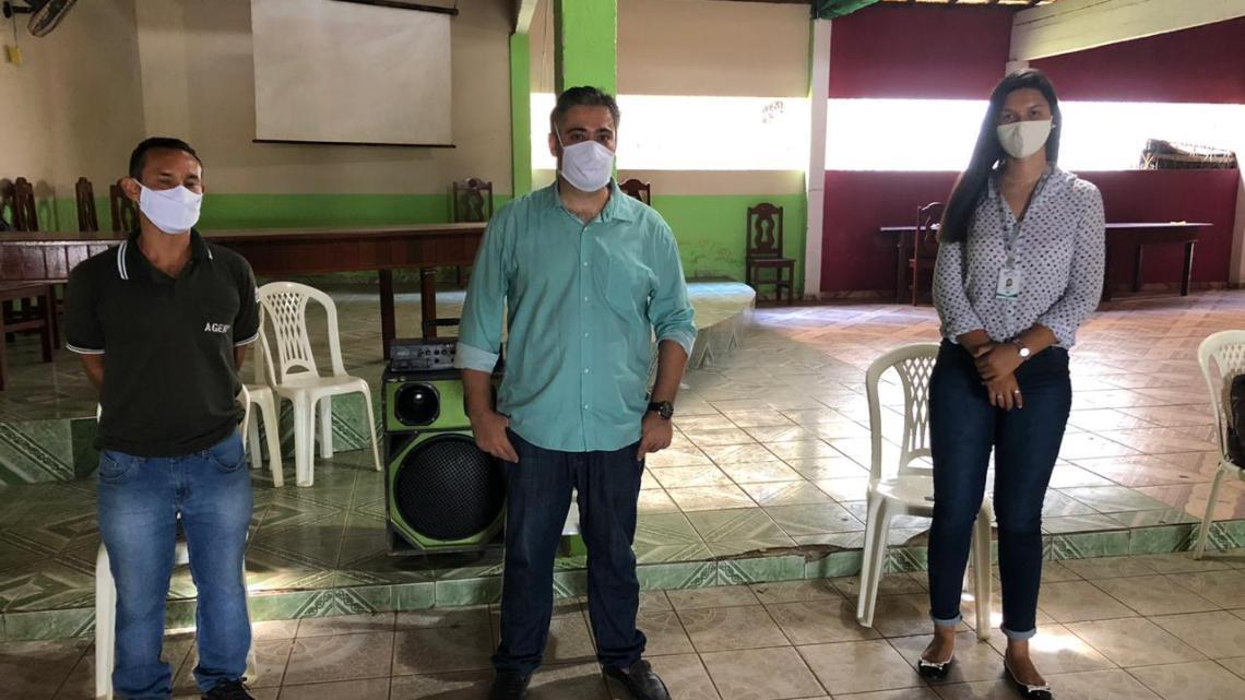 AGERP regional Pinheiro, realiza entrega de recibos do cadastro ambiental rural no município de Bacuri