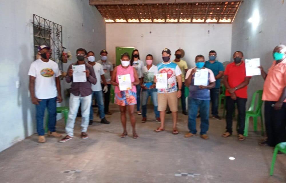 Agerp regional Pinheiro realiza entrega de recibos do CAR no município de Pedro do Rosário