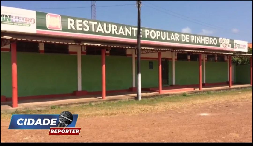Gestão incompetente de Luciano Genésio, mantém Restaurante Popular de Pinheiro fechado
