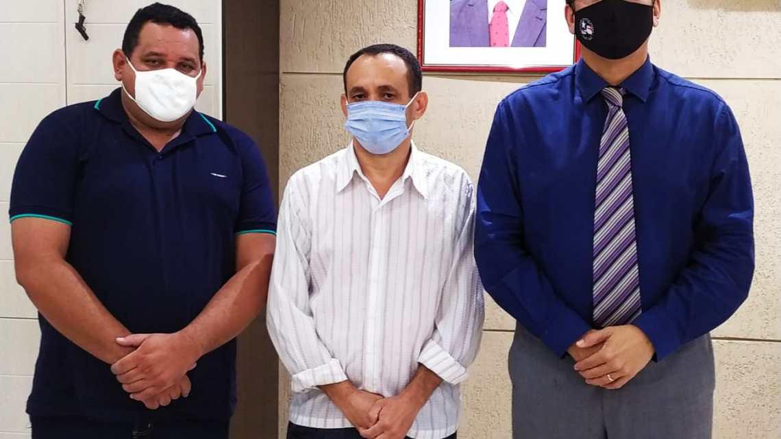 Pré-candidato a prefeito Carlos Klei e aliados, reúnem-se com Jefferson Portela secretário de segurança do Maranhão