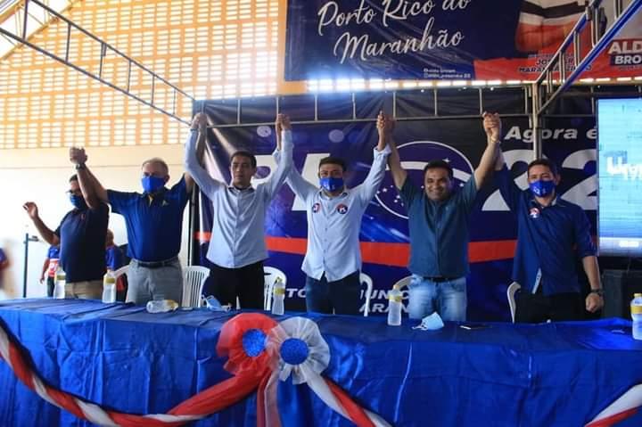 Convenção oficializa candidatura de Aldo Brown, a prefeito de Porto Rico do Maranhão
