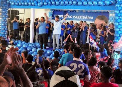 Leonardo Sá demonstra força política na Convenção do PL em Pinheiro