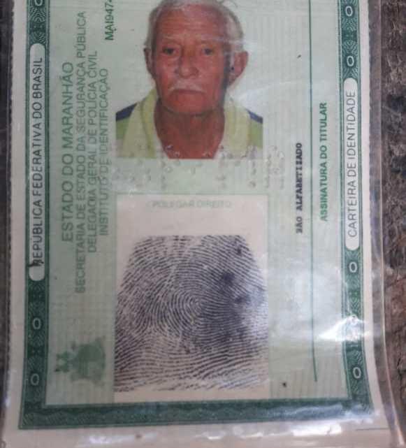 Idoso de 79 anos está desaparecido a mais de 24 horas, no povoado Maranhãozinho dos Teixeiras zona rural de Pinheiro