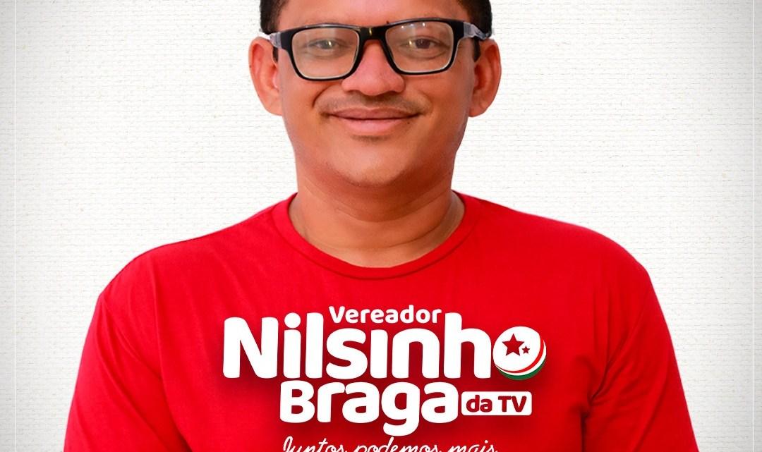 Eleições 2020 – Nilsinho Braga da TV participa da passeata Gigante, e mostra força junto ao eleitorado de São Bento