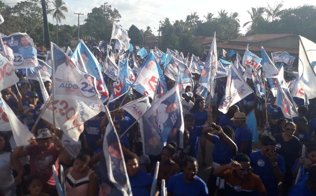 Onda Azul – Mega arrastão mostra Aldo Brown cada vez mais perto da vitória em Porto Rico do Maranhão