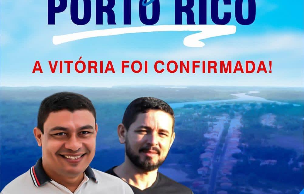 Após Vitória, Aldo Brown faz agradecimento especial e diz que vai fazer uma gestão de muito trabalho em Porto Rico do Maranhão
