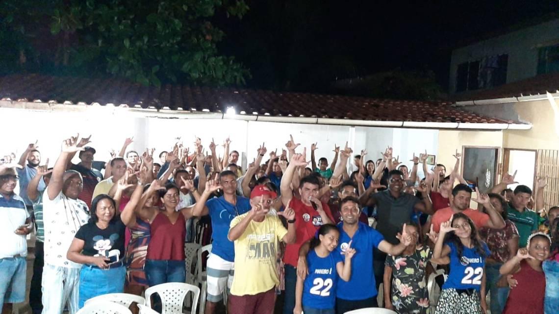 Vereador Riba do Bom Viver reúne-se com mais de cem lideranças, e segue firme rumo ao seu segundo mandato