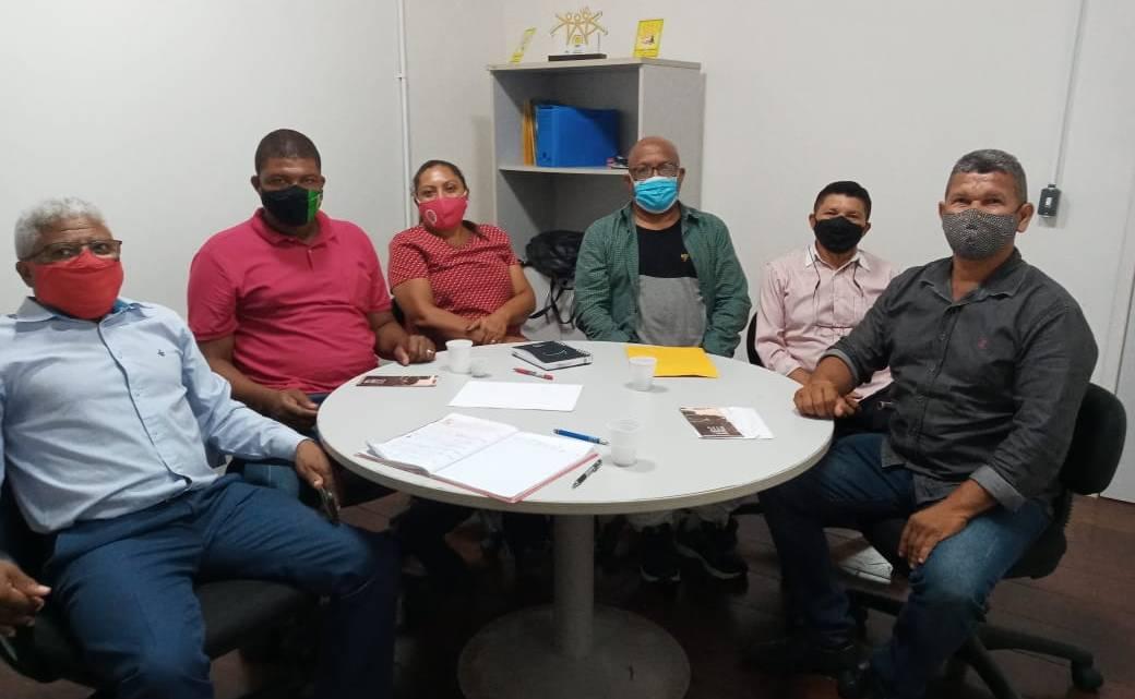 Prefeita eleita Fechinha Privado, reúne-se com a deputada Helena Dualibe e secretários estaduais garantindo benéficos para Central do Maranhão