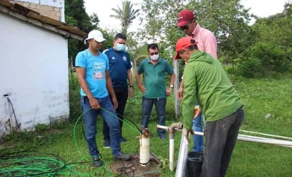 Santa Helena – Sistema de abastecimento de água da rua Antônio Weba em Queimadas, é restabelecido após cobrança do vereador Braz Amaral