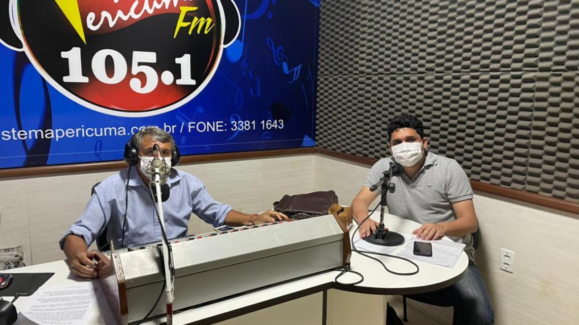 Pinheiro – Durante entrevista, vereador Felipe de chicão diz que é contra projeto do prefeito Luciano Genésio que visa tirar autonomia do poder legislativo Municipal