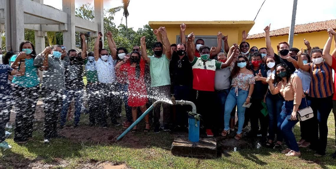 Pedro do Rosário – Prefeito Toca Serra, entrega sistemas de abastecimento de água à moradores da zona rural em parceria com a FUNASA