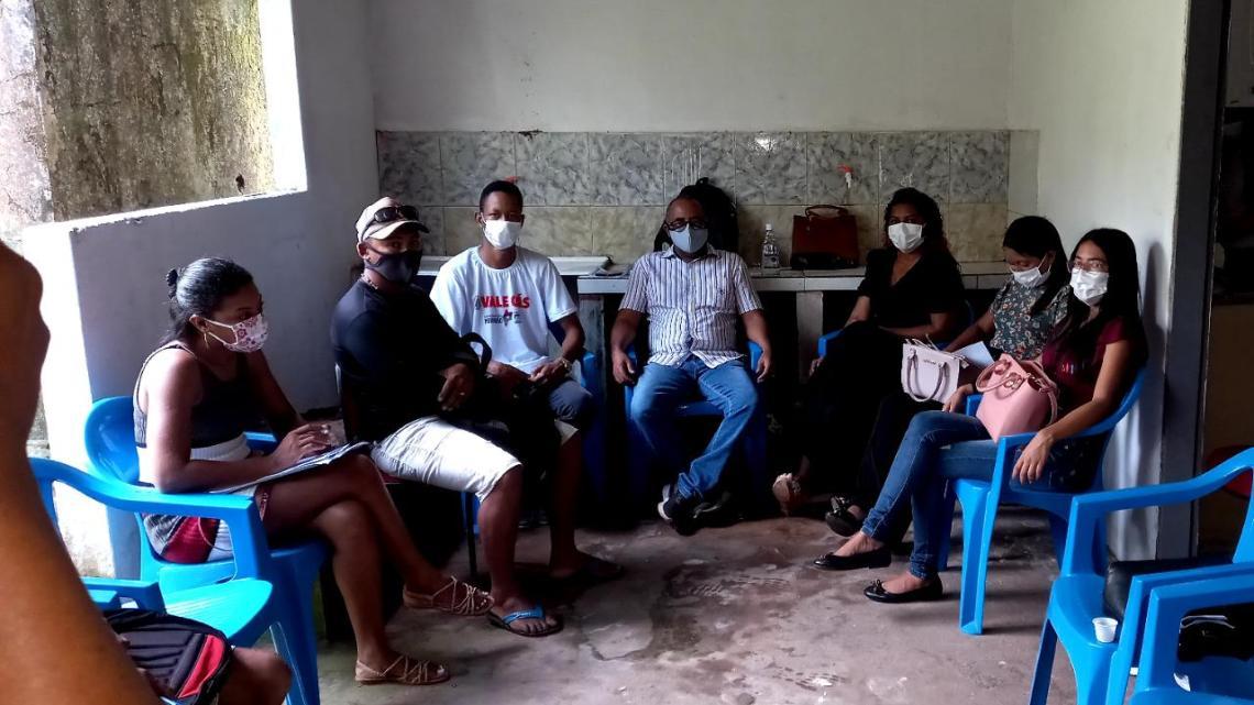 Pedro do Rosário – Coordenação de Igualdade Racial realiza encontro com lideranças Quilombolas
