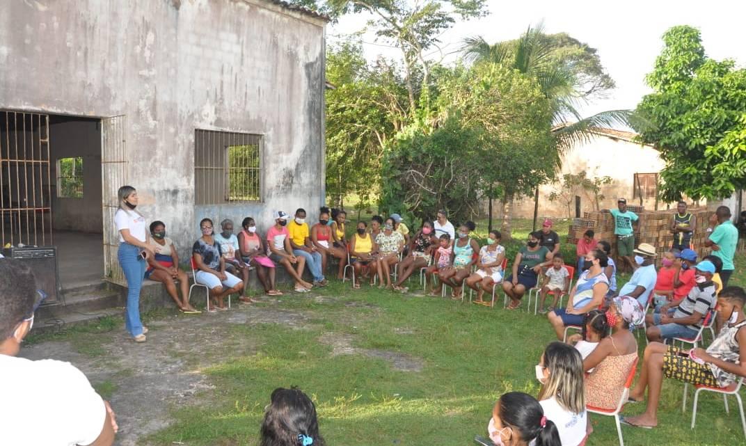 """Porto Rico do Maranhão – Secretaria de Assistência Social leva programa """"Fala Comunidade"""" para o Povoado Santa Maria, oferece importantes serviços à população, e em roda de conversa ouve principais demandas dos moradores"""