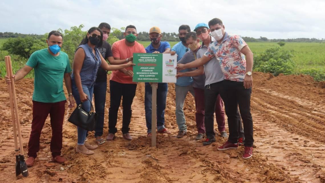 Vereadores de São Vicente Ferrer, cobram que Munícipio cumpra determinação do Ministério Público para impedir aterro irregular dos campos da Cidade