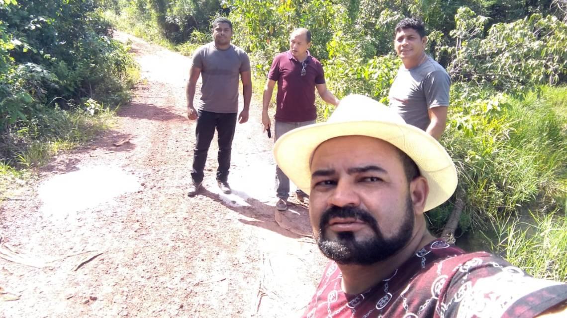 Vereadores solicitam recuperação da estrada vicinal que liga o povoado Itapuaua a outras comunidades de Alcântara