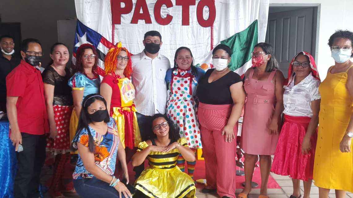 Secretaria Municipal de Educação de Porto Rico do Maranhão, realiza formação de Professores durante três dias